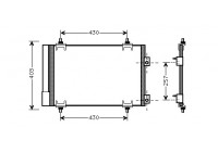 Condenseur, climatisation 09005231 International Radiators