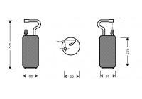 Filtre déshydratant, climatisation