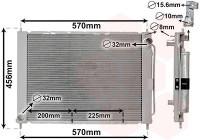 Module de refroidissement 4300M499 International Radiators