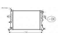 Radiateur, refroidissement du moteur 37002296 International Radiators