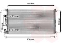 Radiateur, refroidissement du moteur 43002322 International Radiators