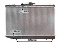 Radiateur, refroidissement du moteur 53002227 International Radiators