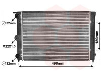 Radiateur, refroidissement du moteur 58002039 International Radiators