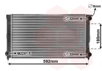 Radiateur, refroidissement du moteur 58002045 International Radiators