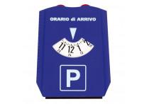 IJskrabber met parkeerkaart