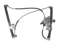 RAAMMECHANISME ELEKTRISCH inclusief MOTOR LINKS 2-deurs Zonder comfort 4912261 Van Wezel
