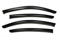 Zijwindschermen Dark voor Volkswagen Golf VII Hatchback 2012-2017 4-delig