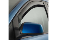 Zijwindschermen Master Dark (achter) voor Volkswagen Polo 6R 5 deurs 2009-