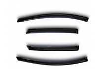 Zijwindschermen voor Dacia Duster 2011-
