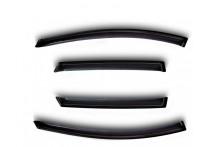 Zijwindschermen voor Kia Sorento II 2009- crossover
