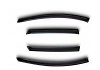 Zijwindschermen voor Nissan Qashqai 2012- crossover