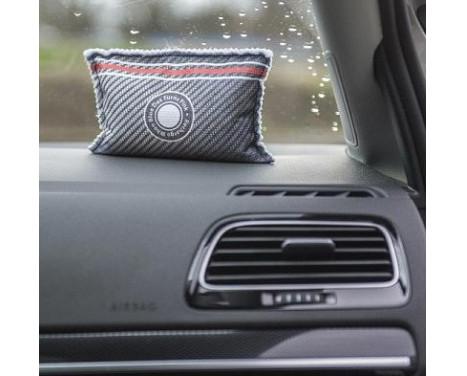 Pingi herbruikbare auto ontvochtiger in carbon look 300gr for Interieur auto schoonmaken