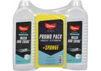 Valma S05G 2x500ml Wash and shine met spons