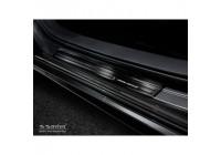 Zwart RVS Instaplijsten Mazda 3 HB 5-deurs 2019-- Brushed Steel 'Special Edition'4-d