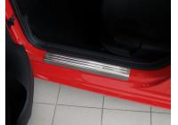 Instaplijst 'Exclusive' Volkswagen Polo 6R 5drs 2009-2014 4-delig