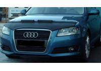 Motorkapsteenslaghoes Audi A3 8P 2009- zwart (facelift)