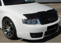 Motorkapsteenslaghoes Audi A4 8E cabrio 2001- zwart