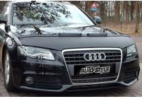 Motorkapsteenslaghoes Audi A4 B7 2008- zwart