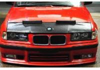 Motorkapsteenslaghoes BMW 3 serie E36 1991-1998 zwart