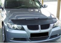 Motorkapsteenslaghoes BMW 3 serie E90/E91/E92 sedan 2005-2008 zwart