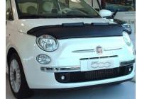 Motorkapsteenslaghoes Fiat 500 2007- zwart