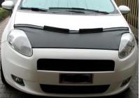 Motorkapsteenslaghoes Fiat Grande Punto 2005-2008 zwart