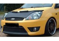 Motorkapsteenslaghoes Ford Fiesta VI 2006-2008 zwart