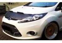 Motorkapsteenslaghoes Ford Fiesta VII 2008-2012 zwart