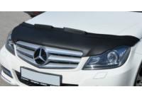 Motorkapsteenslaghoes Mercedes C-Klasse W204 2008-2009 zwart