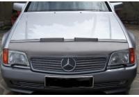 Motorkapsteenslaghoes Mercedes SL W129 1989-1992 zwart