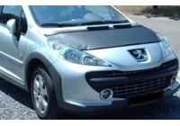 Motorkapsteenslaghoes Peugeot 207 2010- zwart