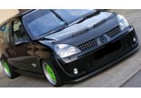 Motorkapsteenslaghoes Renault Clio II 2001-2005 carbon-look
