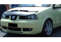 Motorkapsteenslaghoes Seat Arosa facelift 2000-2004 zwart