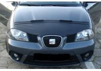 Motorkapsteenslaghoes Seat Cordoba/Ibiza 6L 2002-2008 zwart