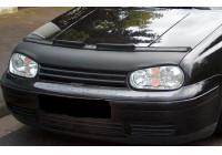 Motorkapsteenslaghoes Volkswagen Golf IV + R32 1998-2003 zwart