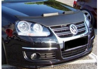 Motorkapsteenslaghoes Volkswagen Jetta V 2005-2009 zwart
