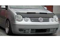 Motorkapsteenslaghoes Volkswagen Polo 9N 2002-2005 zwart