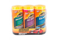Armor All Car Wipes Triple Pack - Actiepakket - 3-delig