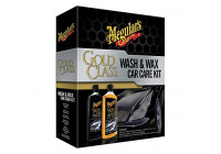 Gold Glass Wash & Wax kit