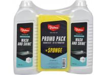 Valma S05G 2x500ml Wash and shine met spons