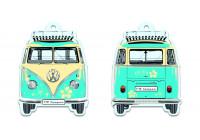 VW T1 Bus luchtverfrisser - Pi n a Colada, turkoois