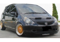 Motorkapsteenslaghoes Honda Jazz 2003-2008 zwart