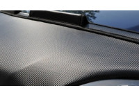 Motorkapsteenslaghoes Mercedes B-Klasse W245 2008- carbon-look