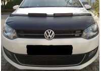 Motorkapsteenslaghoes Volkswagen Polo 6R 2009- carbon-look