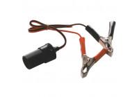 Accu-adapter kabel 12/24V