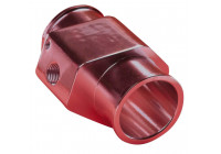 T-adapter 34mm rood for watertemp. sensor