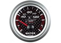Simoni Racing Analoog Instrument - watertemperatuur 40-120gr. - 52mm - Carbon
