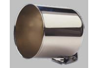 Chromen instrumentenhouder (cup) voor 52mm meters