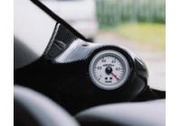 RGM A-Pillarmount Links - 1x 52mm - BMW New Mini R50/R53 2000-2006 - Carbon-Look