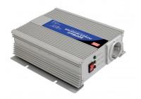 MEAN WELL - DC-AC INVERTER MET GEMODIFICEERDE SINUSGOLF - 600 W - DUITS STOPCONTACT